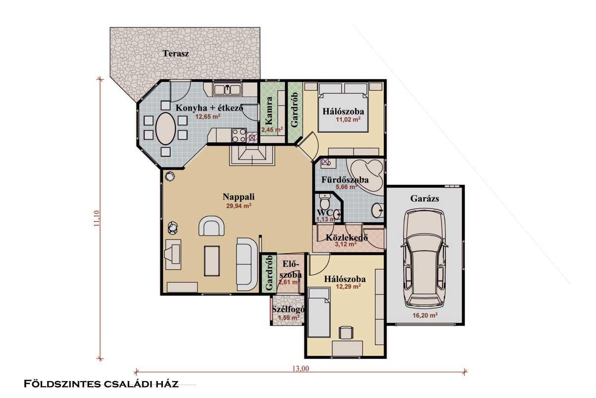 Családi ház Energiatakarékos